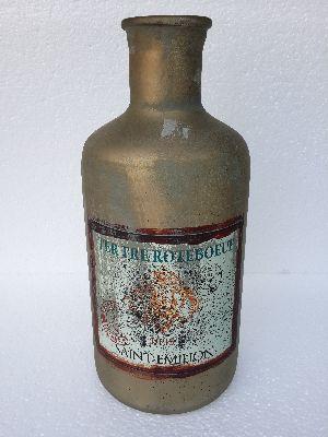 Glass bottle 40 cm