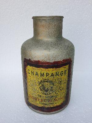 Glass bottle 32 cm
