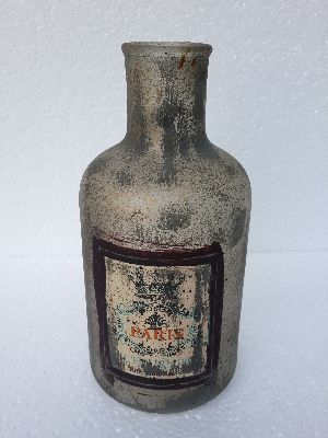 Glass bottle 26 cm