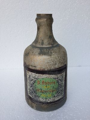Glass bottle 28 cm